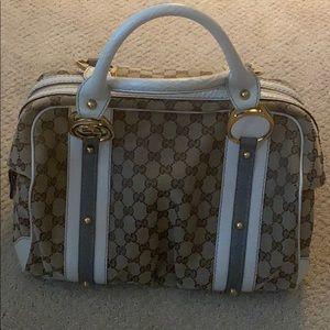 Gucci small duffle hand bag